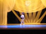 3  премия на балетном конкусе в Харькове. Хрустальная туфелька 2013